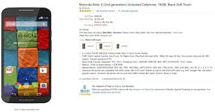 black friday amazon starts amazon deal the moto x 2014 can be yours for just 199