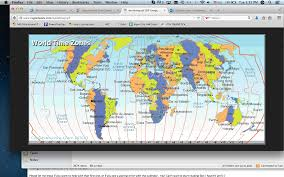World Time Zones Map by Tues Wed Aug 19 And 20 7th Grade Gold Math