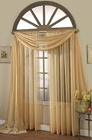 curtains arched window curtains decor stylish arched window