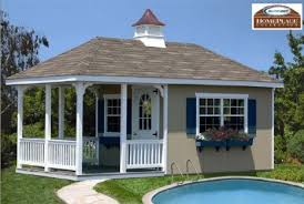 Backyard Storage Building by Buy 10 X 20 Pool House Storage Building Kit With Floor Amazing