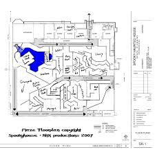 haunted house layout ideas