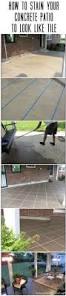 Backyard Cement Patio Ideas top 25 best stained concrete porch ideas on pinterest concrete