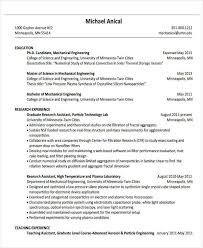 Resume Samples For Experienced Mechanical Engineers by 37 Engineering Resume Examples Free U0026 Premium Templates