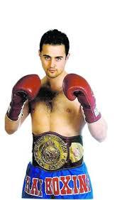 """Javier Romero """"El Kickboxing es un deporte minoritario y no ... - javier-romero-cinturon"""