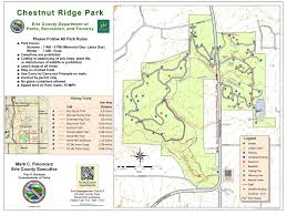 Illinois Prairie Path Map by Chestnut Ridge Erie County Parks Recreation And Forestry