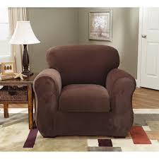 sure fit stretch pique wing chair recliner slipcover hayneedle