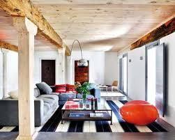 rustic interior design for the living room the home design