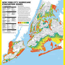 Zip Code Map Brooklyn by Map Nyc Has New Hurricane Evacuation Zones Gothamist