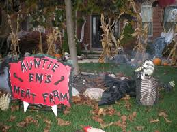 halloween yard decorations diy exteriors diy outdoor halloween decorations wonderful loversiq