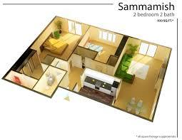 emejing one bedroom apartment floor plans gallery rugoingmyway