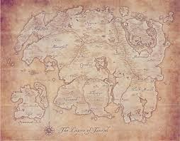 Morrowind Map Tamriel Elder Scrolls Fandom Powered By Wikia
