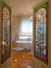 stained glass door film faux stained glass film houzz