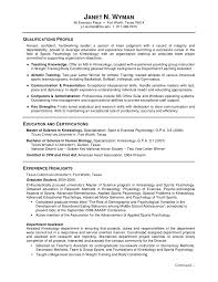 Chemist Resume Samples by Curriculum Vitae Sample For Fresh Accounting Graduate 13 Resume