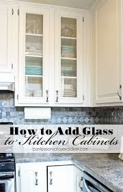 How To Level Kitchen Cabinets Best 25 Glass Kitchen Cabinet Doors Ideas On Pinterest Glass
