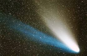 The Two Tails of Halley's Comet. http://www.weirdwarp.com/2010/04/the-ins-and-outs-of-comets/