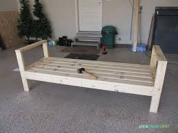 Build Your Own Outdoor Patio Table by Diy Outdoor Couch Life On Virginia Street