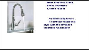moen brantford kitchen faucet kitchen moen touchless kitchen
