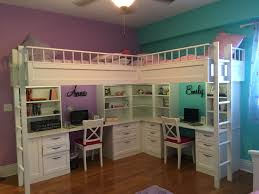 custom made dual loft beds with desks kids room decor custom kids beds custom made bunk beds and kids bedroom furniture