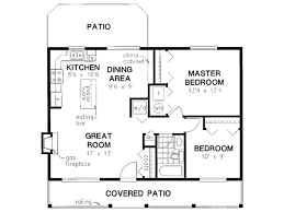 cabin style house plan 2 beds 1 baths 900 sq ft plan 18 327