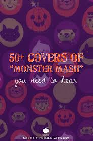 monster mash halloween 50 covers of