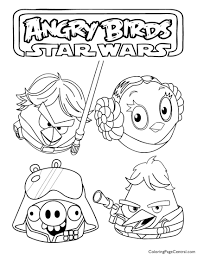angry birds star wars 03 coloring page coloring page central
