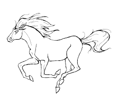 cool horse coloring pages for kids book ideas 119 unknown