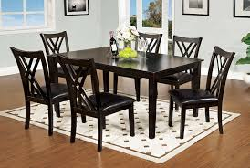 Discount Dining Room Sets Free Shipping by Amazon Com Furniture Of America 7 Piece Hearst Rectangular
