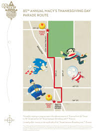 day of thanksgiving 2013 macy u0027s thanksgiving day parade route map u2013 2011 nyc virtual