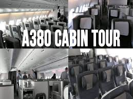 british airways airbus a380 800 cabin tour youtube