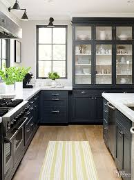 White Country Kitchen Cabinets Best 25 Black Kitchen Cabinets Ideas On Pinterest Gold Kitchen