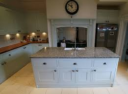 captivating granite top kitchen island unit with white porcelain