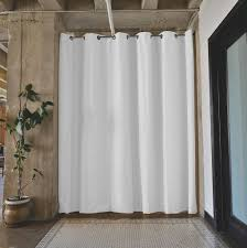 Room Divide by Roomdividersnow Premium Tension Rod Room Divider Kits Easy To