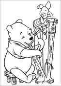 harp coloring page winnie the pooh coloring pages free coloring pages