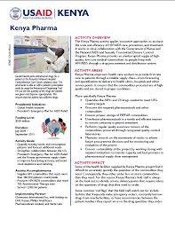 Cheapest Cost Of Living In Us by Kenya Pharma U S Agency For International Development