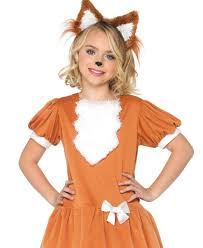 friendly fox kids costume leg avenue c48189