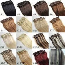 Indian Remy Human Hair Clip In Extensions by 14