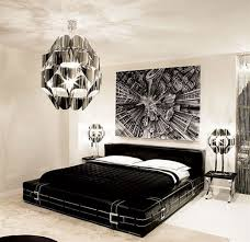 bedroom glamorous bedroom decoration with cool chandelier plus