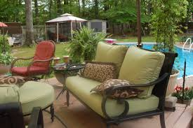 Spray Painting Metal Patio Furniture - patio walmart outdoor cushions outside swing cushions home
