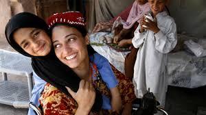 Khazala received a wheelchair following an earthquake in Pakistan  Handicap International UK