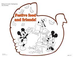 good free disney thanksgiving coloring pages 77 coloring print