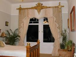 Bedroom Drapery Ideas Bedroom Curtain Ideas Small Rooms Also Wall Mounted Chrome Round
