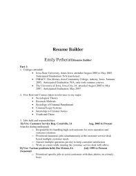 Best College Resumes by Download College Resume Builder Haadyaooverbayresort Com