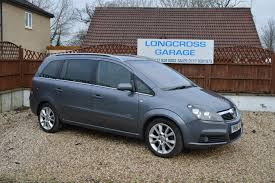 used vauxhall zafira design 2006 cars for sale motors co uk