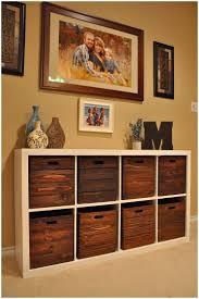 Ikea Wicker Baskets by Shelf Unit With Wicker Baskets Kitchen Cabinets Tall Unit Storage