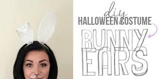 Halloween Costume Ears Diy Bunny Ears Halloween Costume Rad Rest