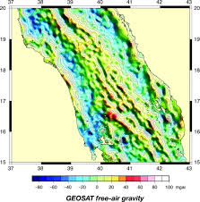 Map Of The Red Sea Constraints On The Deformation And Rupturing Of Continental