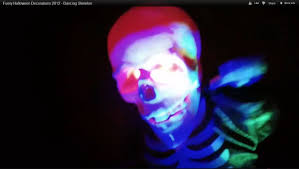 halloween skeletons decorations funny halloween decorations 2012 dancing skeleton youtube