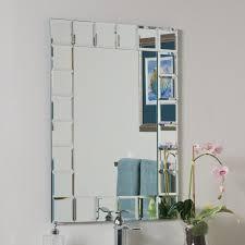 decor wonderland ssm414 1 montreal modern bathroom mirror lowe u0027s