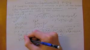Complex Numbers   Complex Equations   Ex    Physics Methods   nd Year University Tutoring