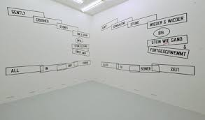Artnews.org: curated by_ Suzy Halajian und Marlies Wirth at Hubert ... - Lawrence_Weiner